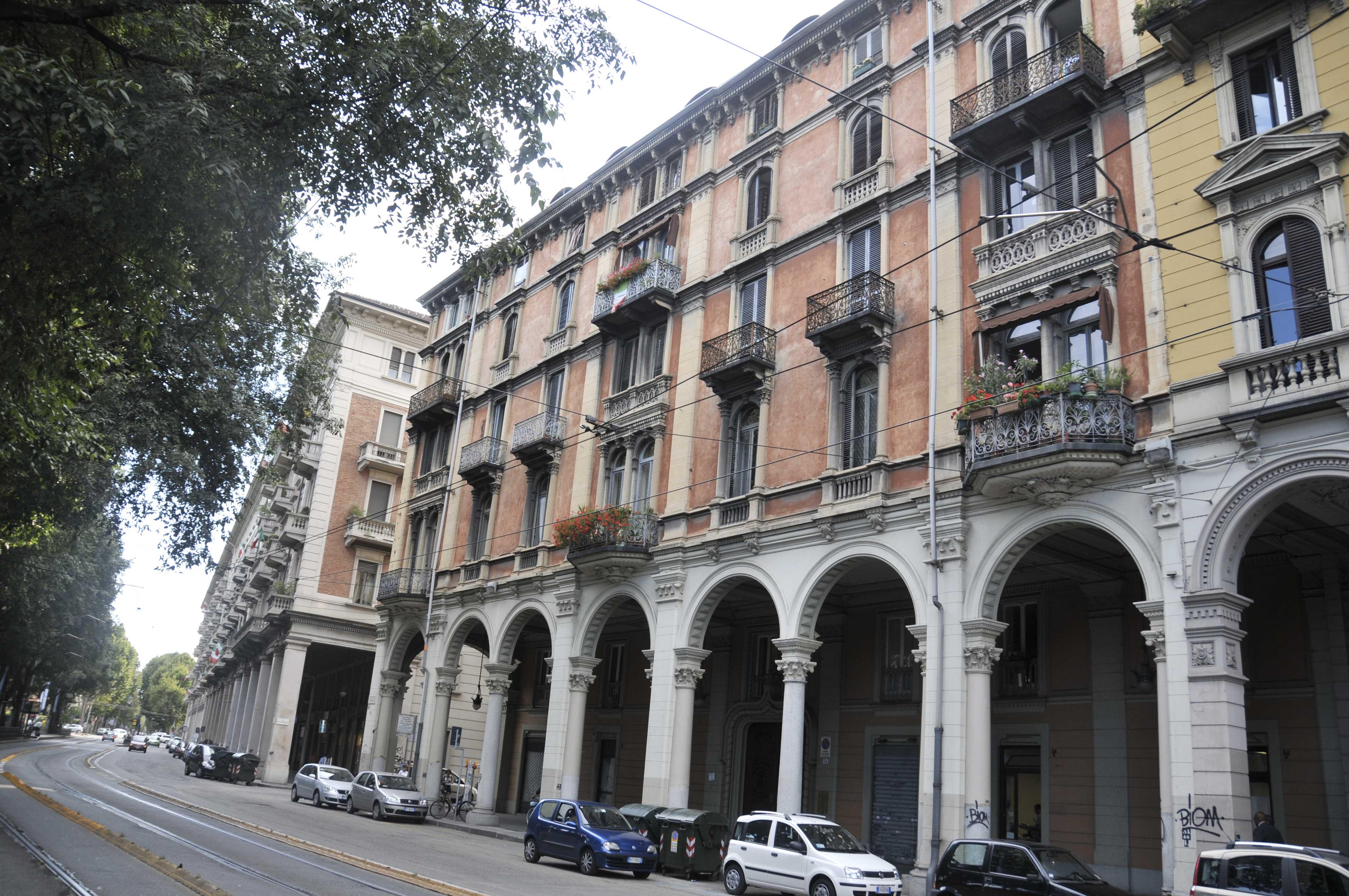 Vista su strada casa crivello camere in affitto a torino for Case in affitto ad amsterdam centro